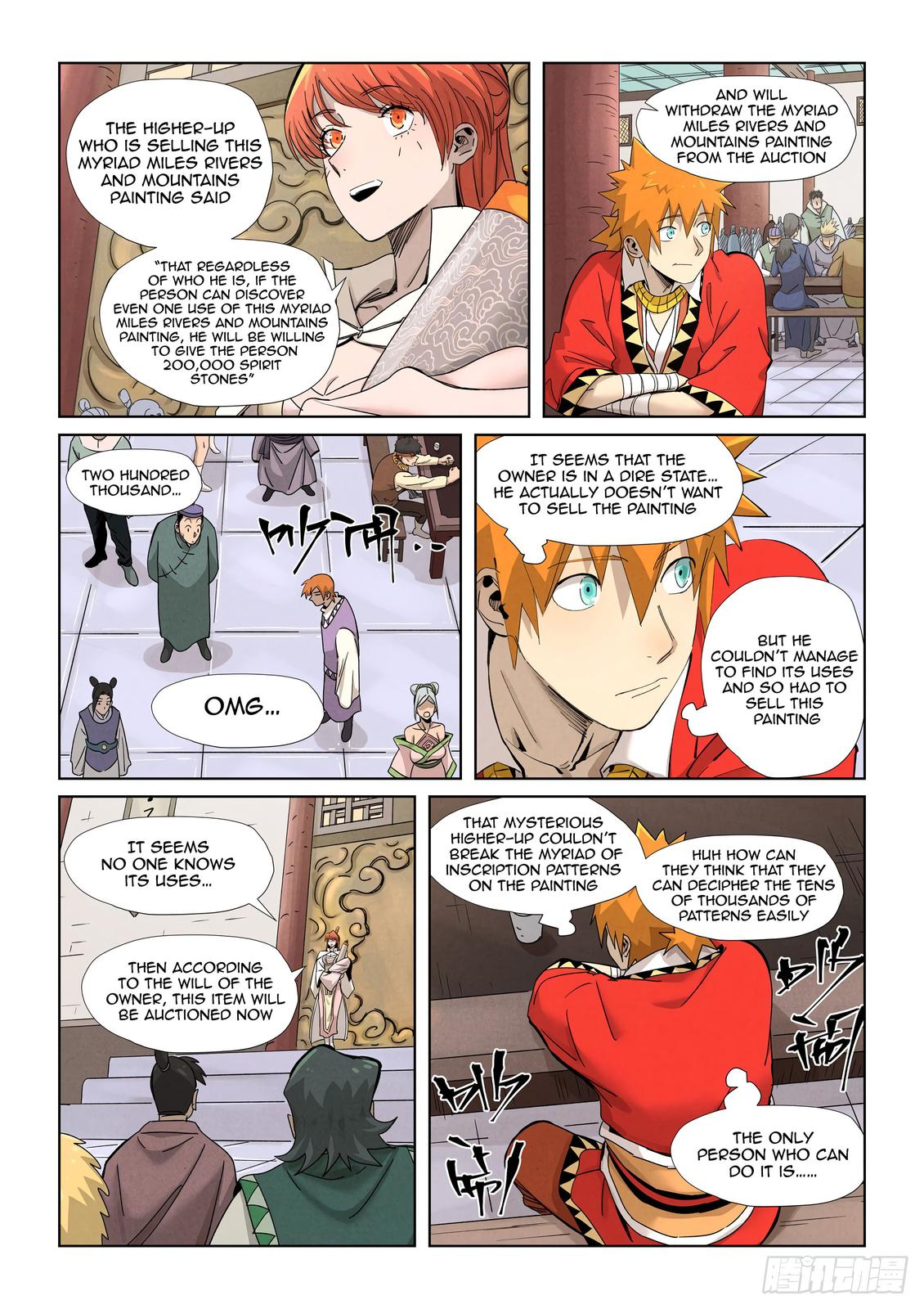 Tales of Demons and Gods Chapter 338.5 Page 6