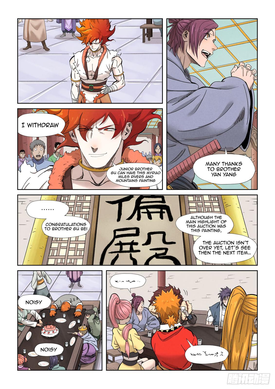 Tales of Demons and Gods Chapter 339 Page 6