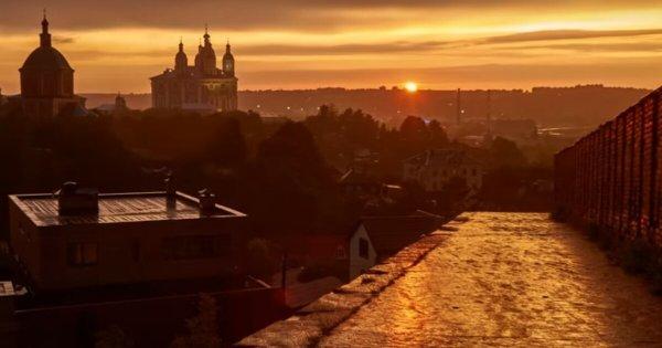 Смоленский фотограф записал красочное видео ко Дню города ...