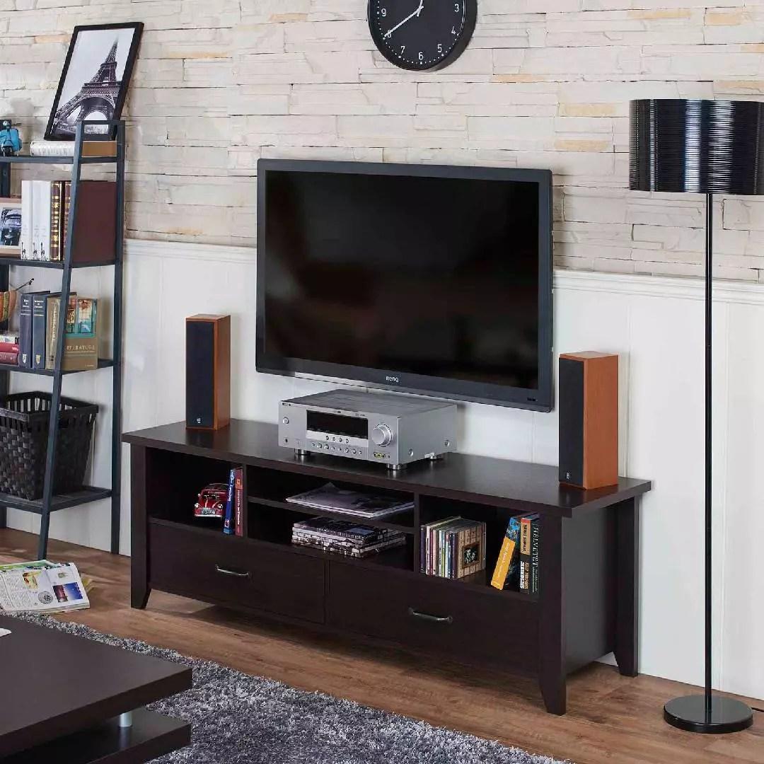 meuble tv fonctionnel a structure