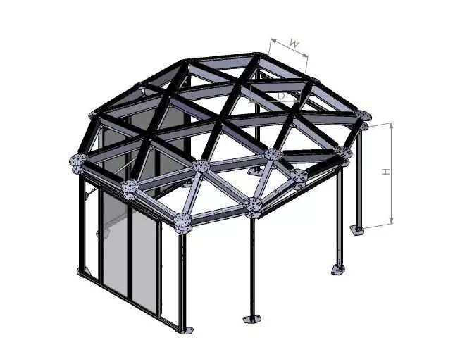fabricant de tente de grille de classe