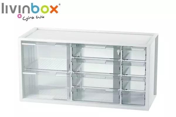 rangement de bureau moyen en plastique