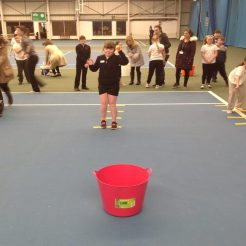 Tennis fest throws
