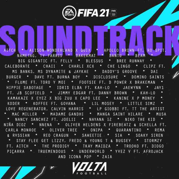 Saweetie, Fireboy DML, Koffee, Rema & Burna Boy enlisted for FIFA 21 VOLTA Soundtrack 2 MUGIBSON WRITES