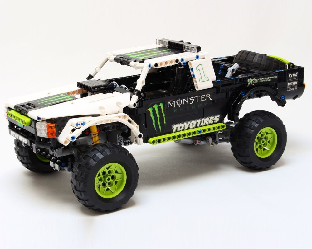 Lego Moc Monster Energy Recoil Baja Truck By Nico71 Rebrickable Build With Lego