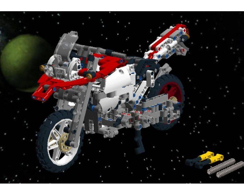 Lego Moc 6168 Bmw R 1200 Gs Ac