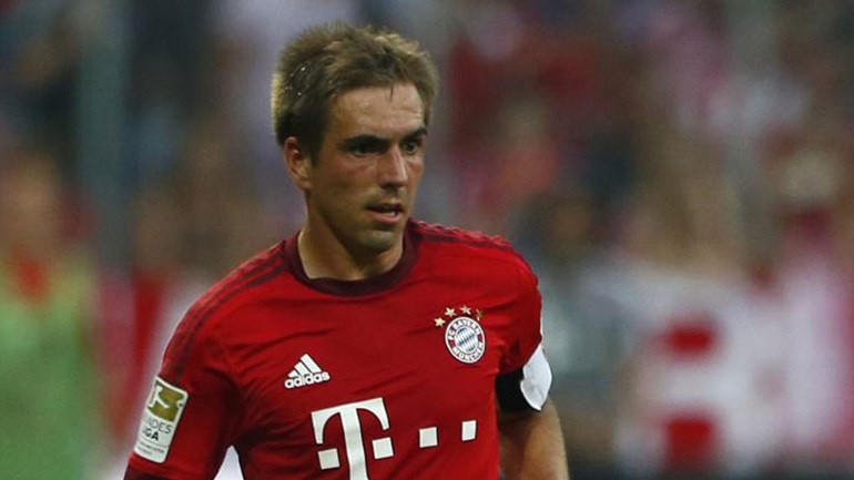 Lahm vai cumprir jogo 500 pelo Bayern