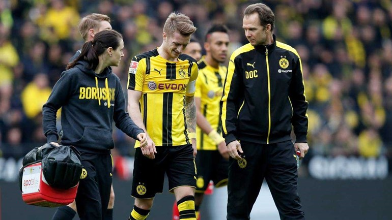 Borussia Dortmund com baixa de peso para o duelo com o Benfica