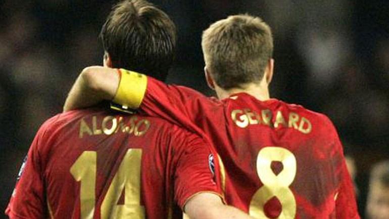 Gerrard reage à retirada de Xabi Alonso com mensagem emocionante