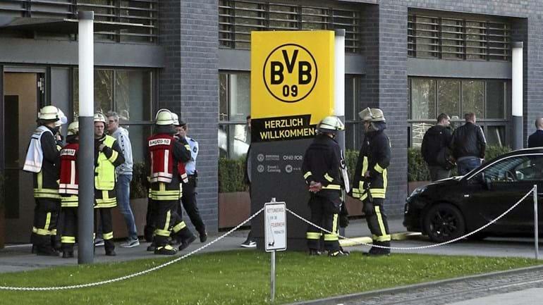 Pó branco obriga à evacuação da sede do Borussia Dortmund