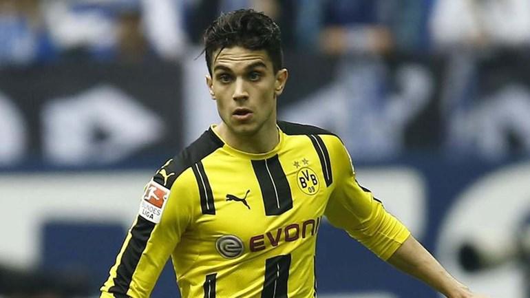 Borussia Dortmund conta com espanhol Marc Bartra dentro de um mês