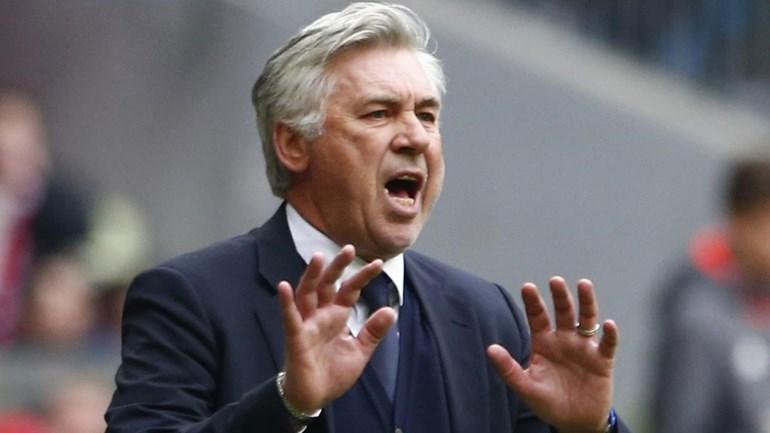 Ancelotti espera batalha muito dura frente ao Dortmund