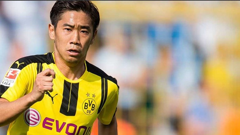 Kagawa prolonga contrato com o Dortmund até 2020