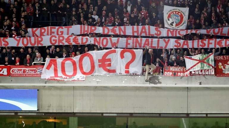 UEFA abre procedimento disciplinar contra o Bayern Munique