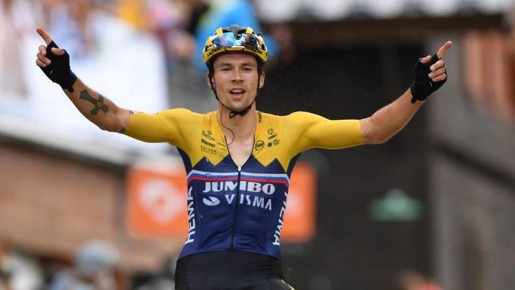 Primoz Roglic vence segunda etapa do Dauphiné e lidera - Ciclismo - Jornal Record