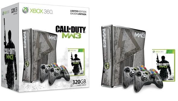 Xbox 360 Limited Edition Call Of Duty Modern Warfare 3