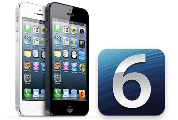 iPhone 5 iOS 6 main