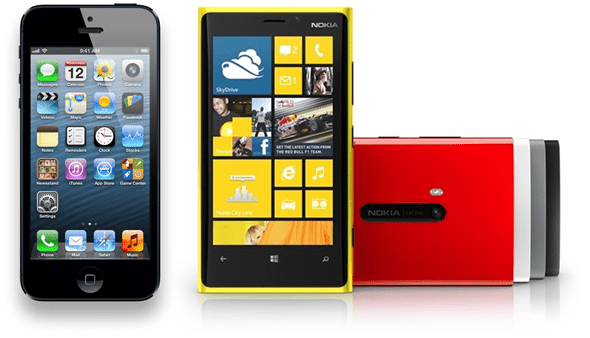 iPhone 5 vs Lumia 920