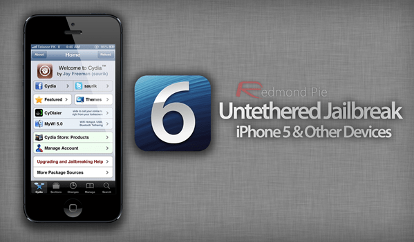 iPhone 5 untethered