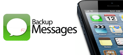 backup iphone messages