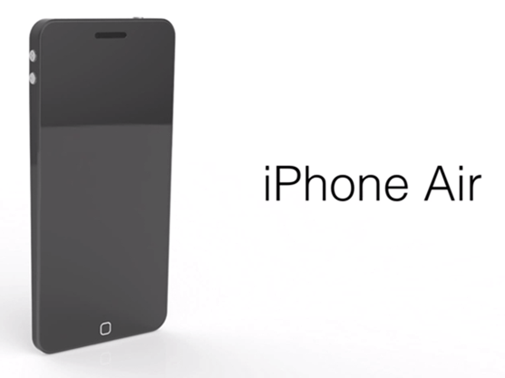 iPhone Air concept 1