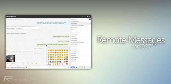 Remote Messages header
