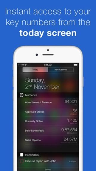 Widgets iOS 8