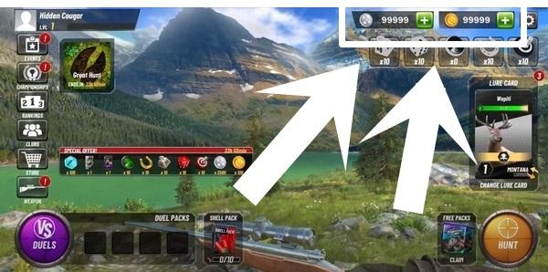 Hunting Clash mod