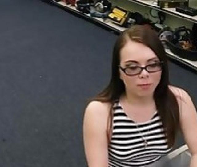Crazy Babe Brings A Car Full Of Guns To A Pawn Shop