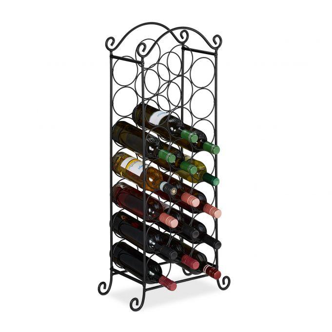 casier a vin pour 21 bouteilles