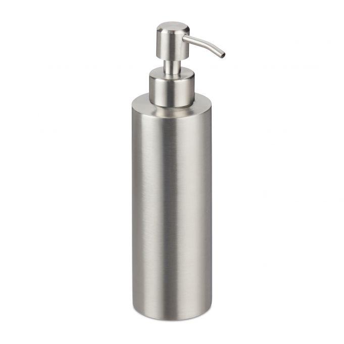 distributeur de savon acier inoxydable