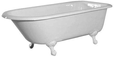 6 foot classic clawfoot tubs