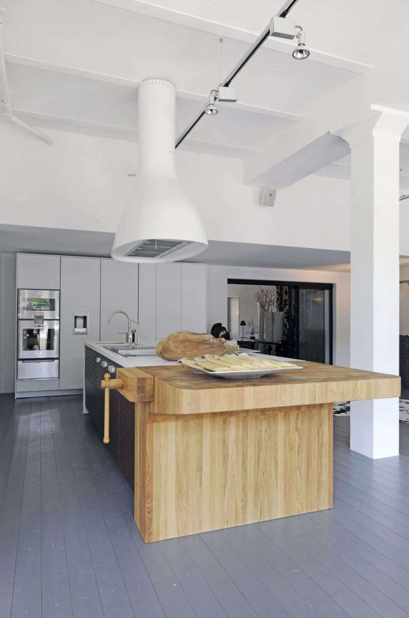 inspiring italian kitchen designers schiffini use butcher block at