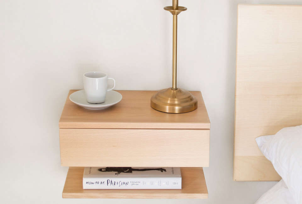 10 Easy Pieces: Wall-Mounted Bedside Shelves With Drawers