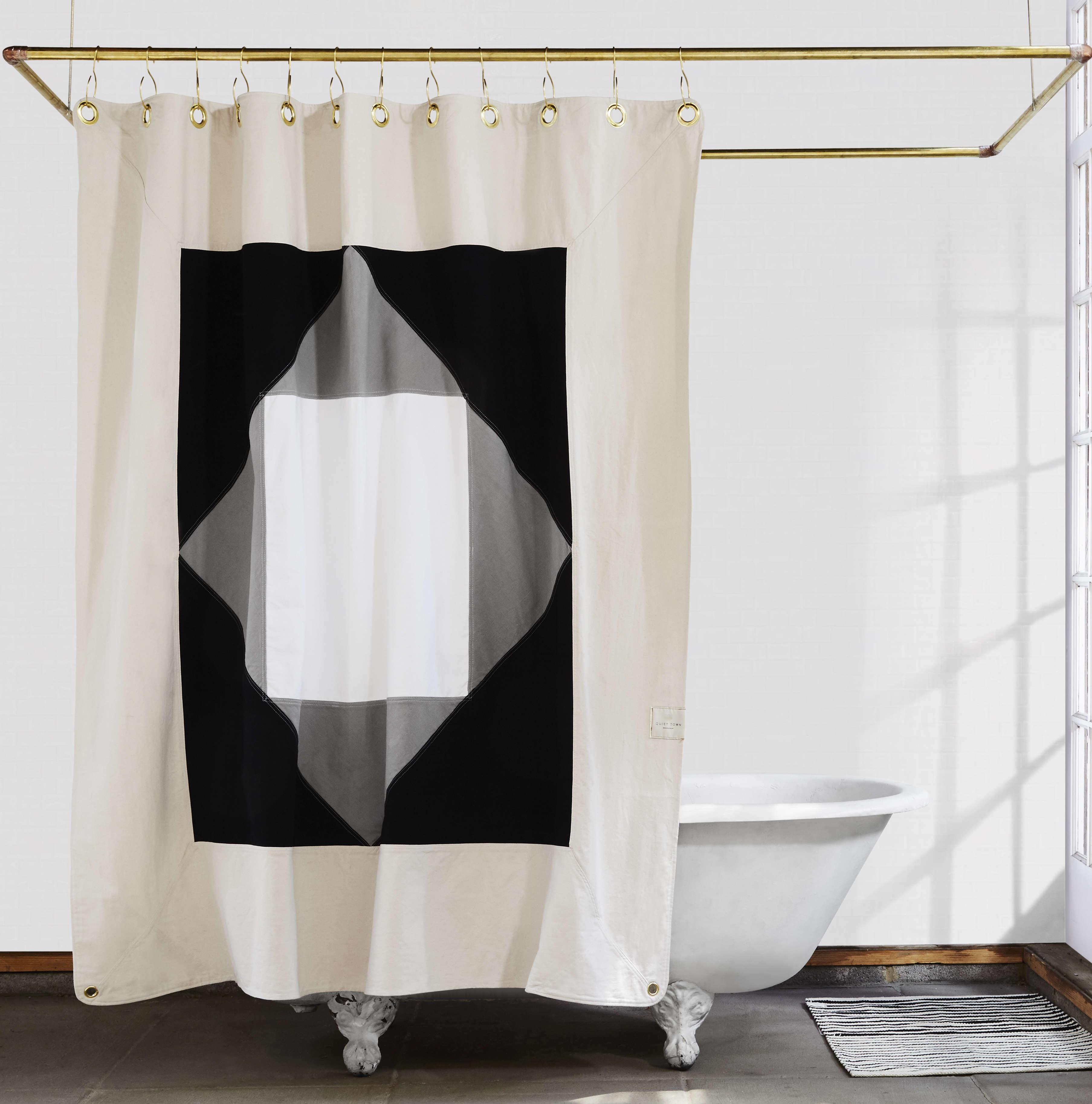 The Narlai Night Ride Organic Cotton Canvas Curtain