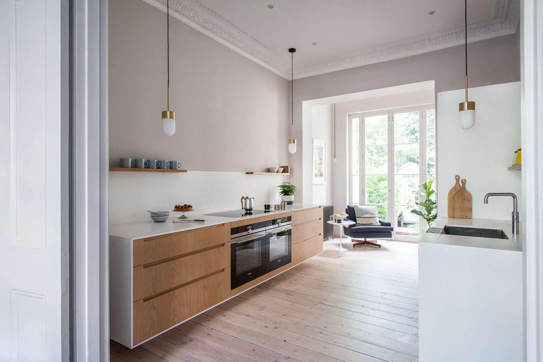 Kitchen Of The Week A Minimalist Galley Kitchen In A