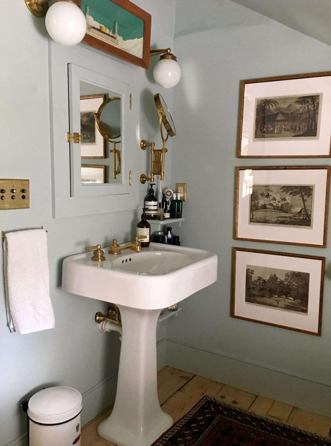 Hudson Valley Farmhouse Bathroom Remodel - Remodelista on Farmhouse Bathroom Remodel Ideas  id=19303