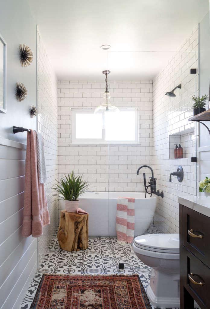 Modern Farmhouse Bath Remodel - Remodelista on Farmhouse Bathroom Remodel Ideas  id=25272