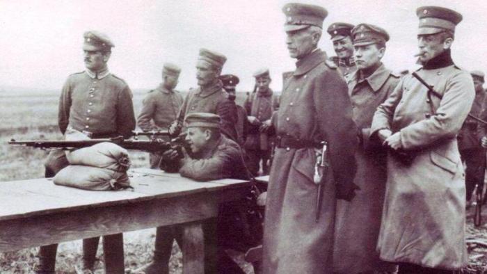 Фото: © Учебные стрельбы германских снайперов времен Первой мировой войны. smolbattle.ru