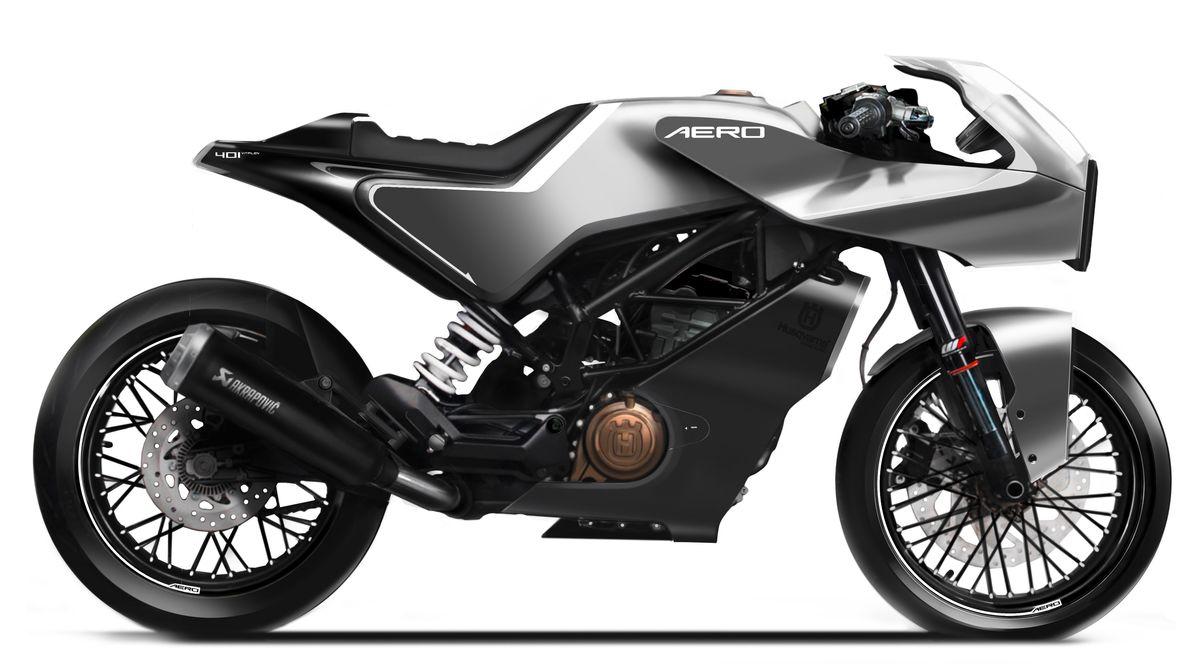 VITPILEN 401 AERO Sketch3 | CustomBike.cc