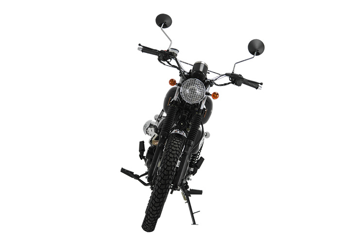 Retro 125cc - Sinnis Scrambler 125cc front