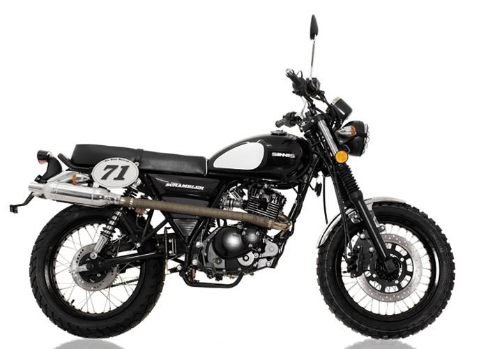 Retro 125cc - Sinnis Scrambler 125cc Right