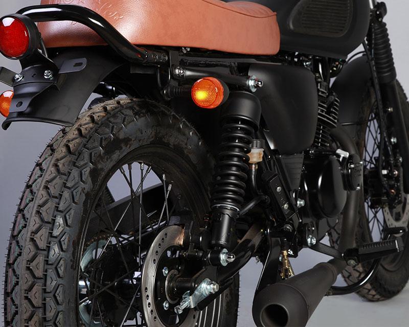 Mutt Motorcycles Mongrel Rear Right