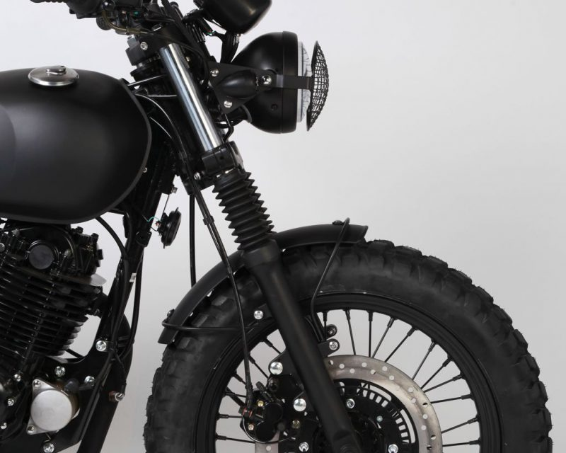 Mutt Motorcycles Sabbath 250 Headlight