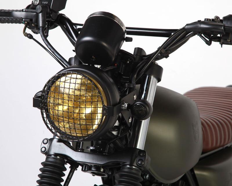 Mutt Motorcycles Hilts Green 125 Handlebars