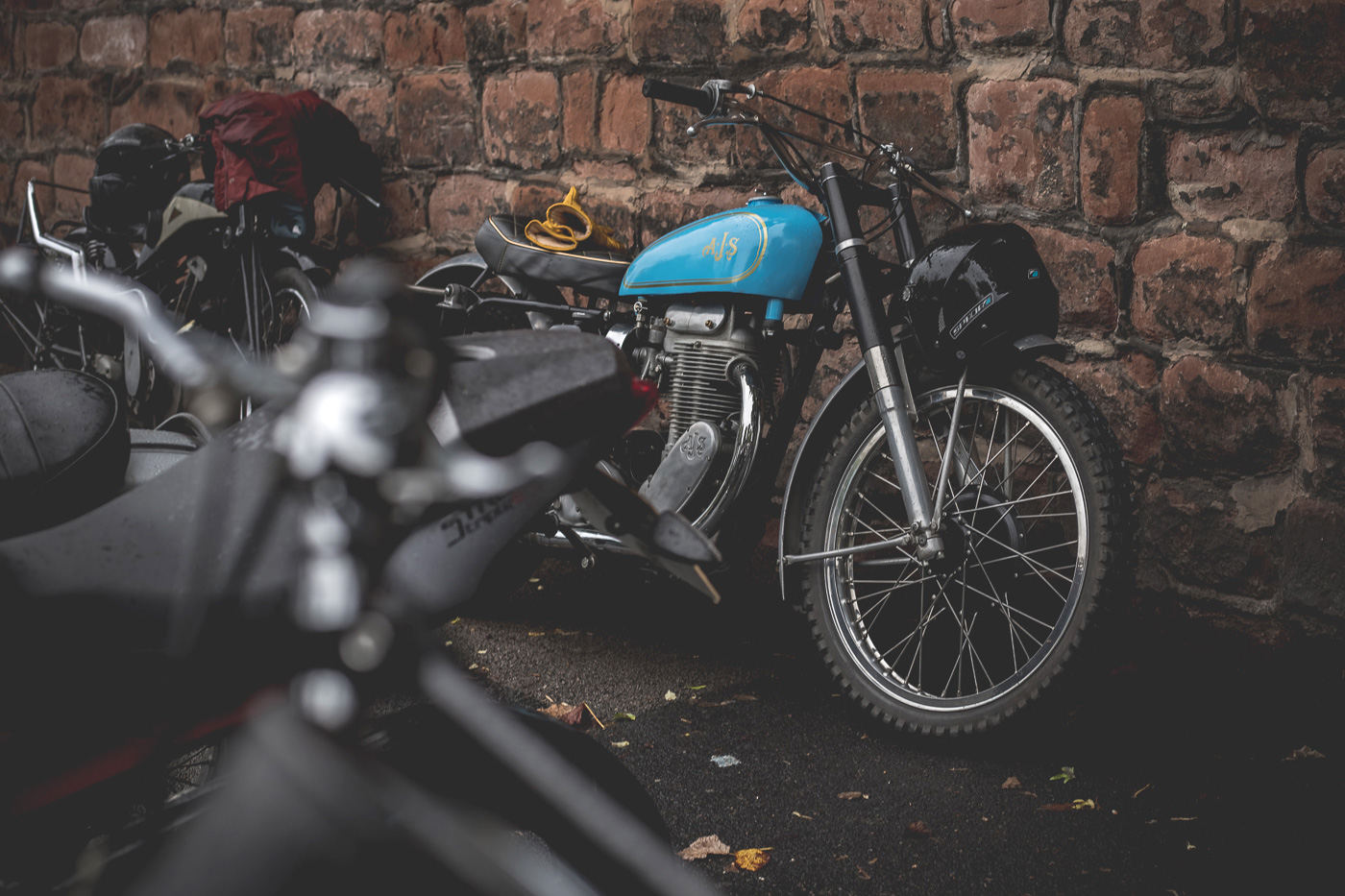 Classic AJS Gentleman's Distinguished Ride 2019 Chester