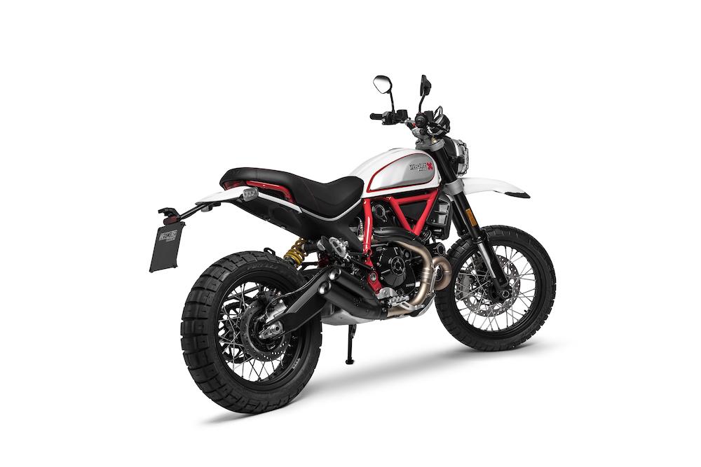 Ducati Scrambler Desert Sled rear left