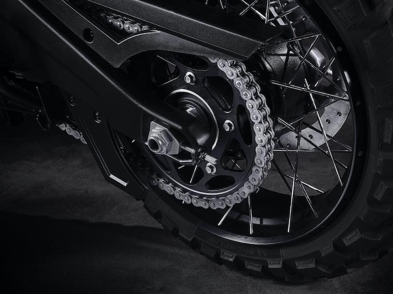 Harley-Davidson Pan American chain drive