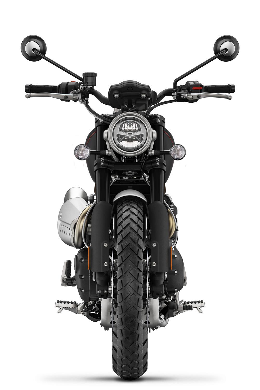 Scrambler 1200 XC Black Front