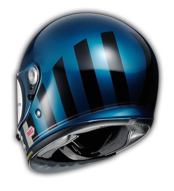 Shoei Glamster Retro Helmet [Blue]